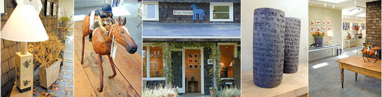 Blue Horse Folk Art Gallery - Salt Spring Island, BC